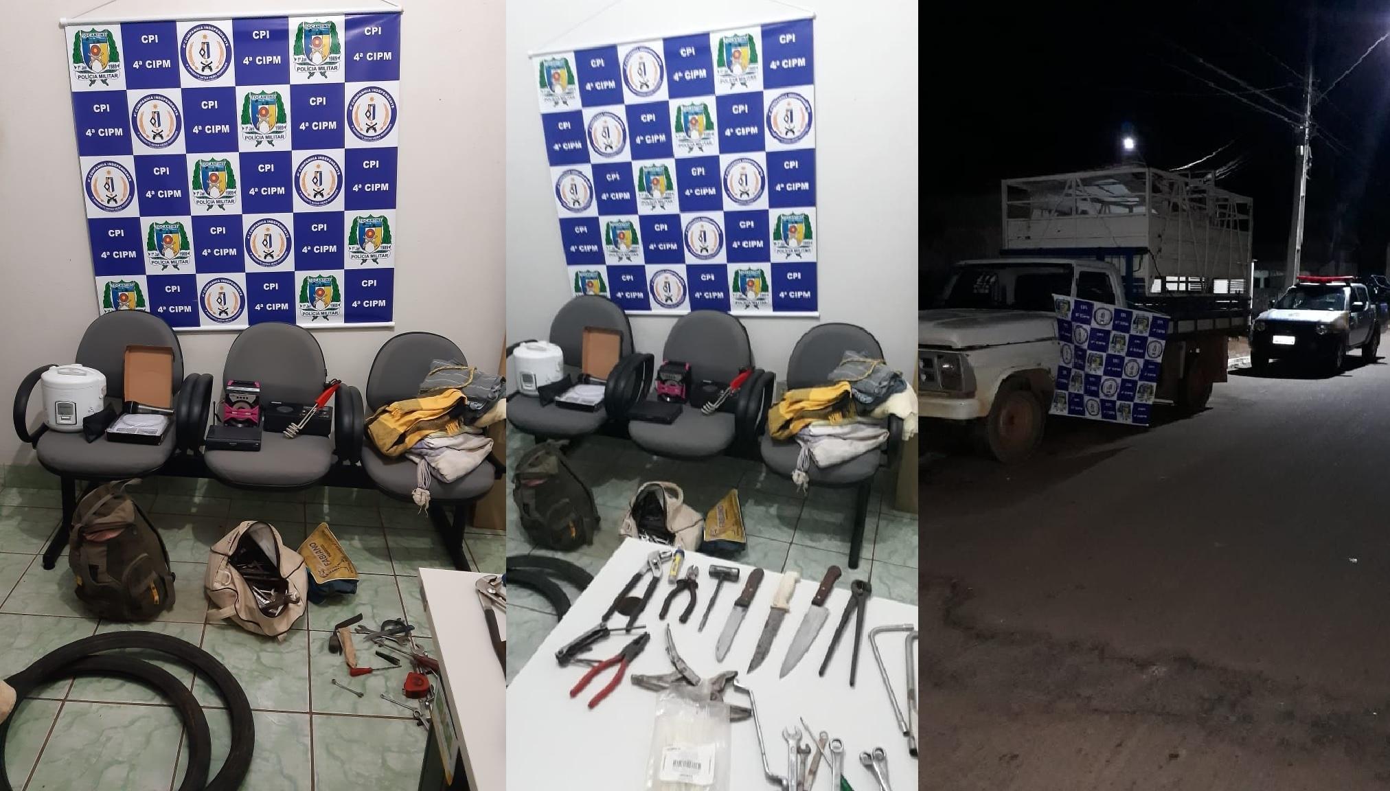 4ª CIPM em Fátima TO prende pela segunda vez autor de furto de veículo automotor