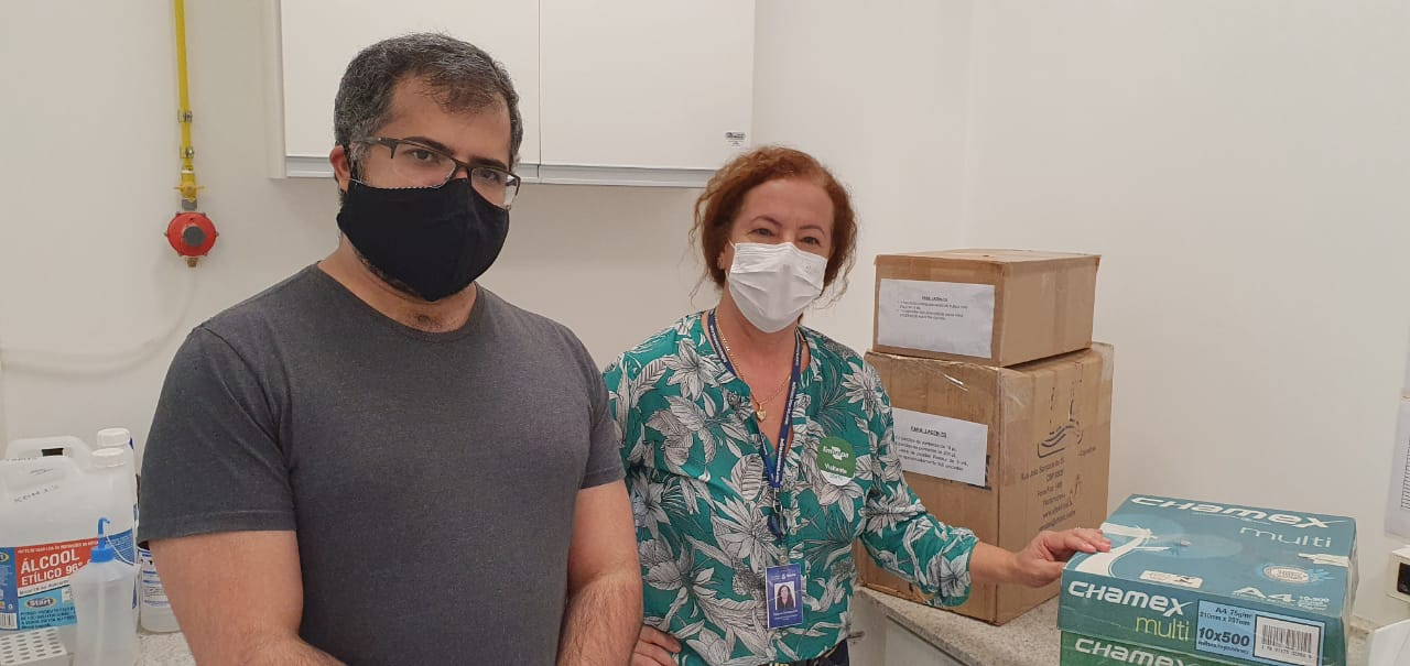 Lacen recebe doações da Embrapa Pesca e Aquicultura para aumentar diagnósticos da Covid-19