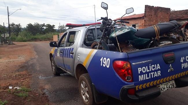 4ª CIPM, recupera em Fátima veículos furtados em Lagoa da Confusão