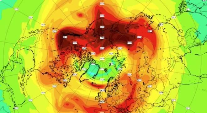 Maior buraco na camada de ozônio no Polo Norte se fechou, descubra como