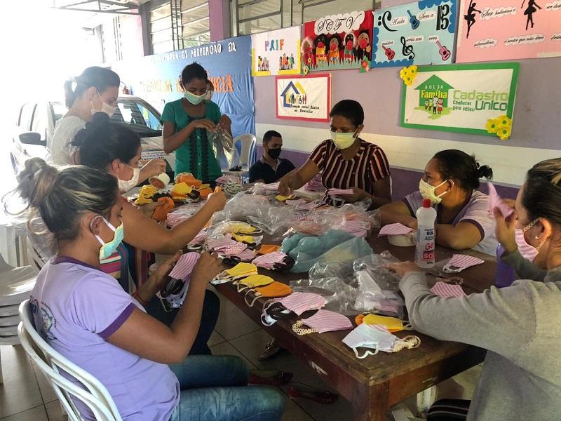 Prefeitura de Fátima distribui máscaras de proteção facial para pessoas em situação de vulnerabilidade