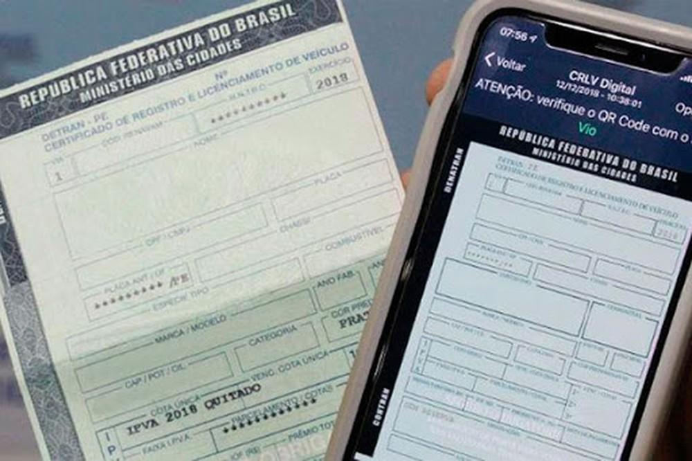 Documento digital de veículos começa a valer no Tocantins; saiba mais