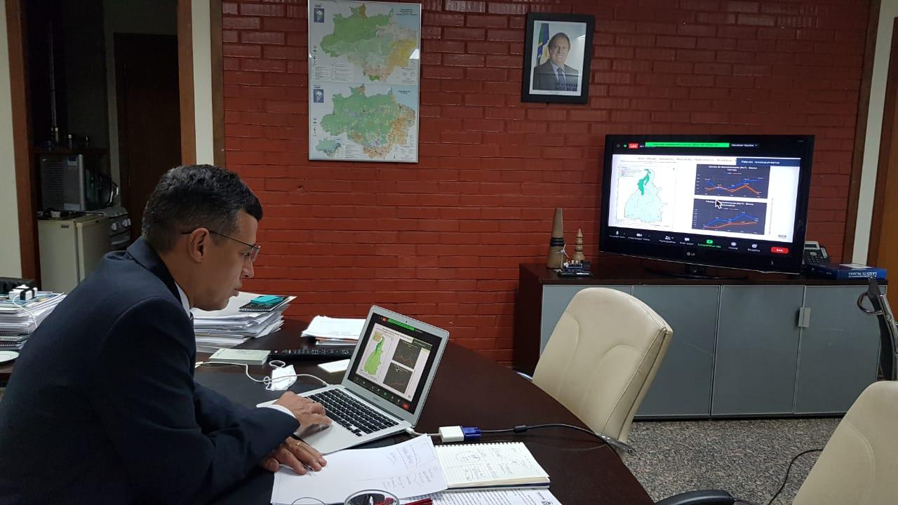 Em Debate Online, Tocantins apresenta dados de redução de desmatamentonos biomas Cerrado e Amazônico