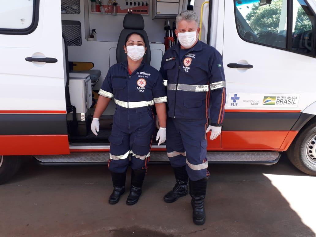 Socorristas do SAMU de Porto Nacional fazem parto de jovem dentro da ambulância