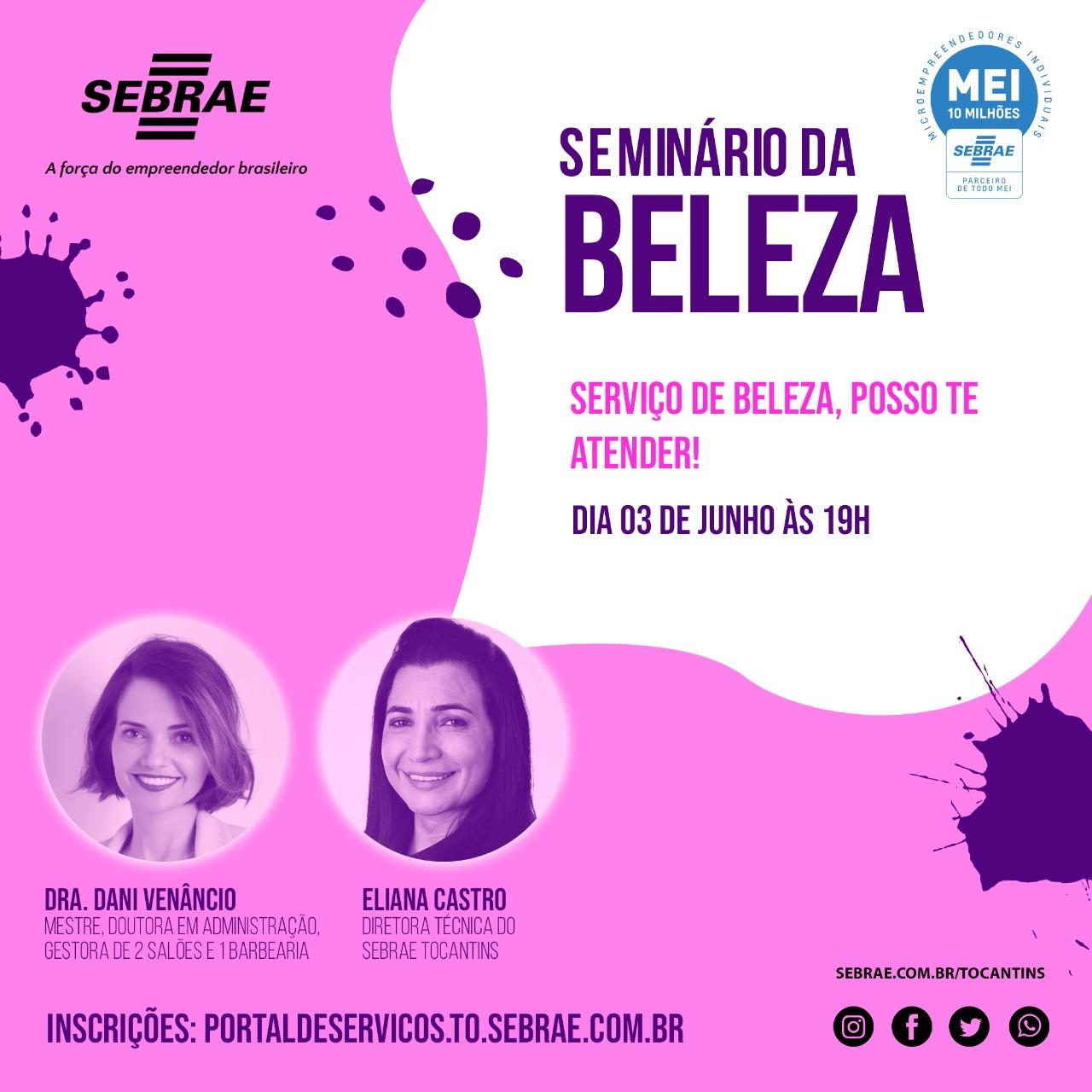Seminário digital para negócios da beleza com Dani Venâncio acontece hoje