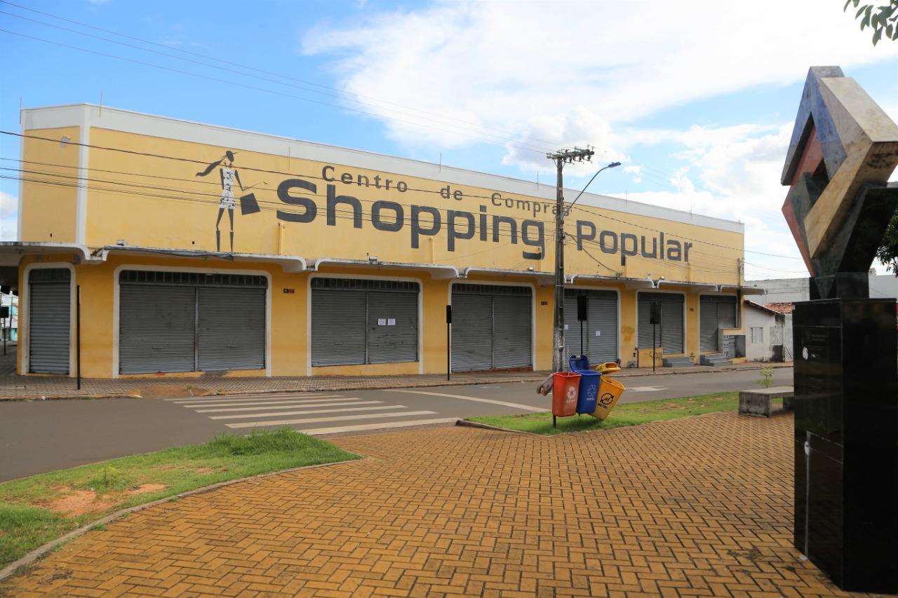 Prefeitura de Araguaína estabelece regras para funcionamento do Shopping Popular e lojas pequenas