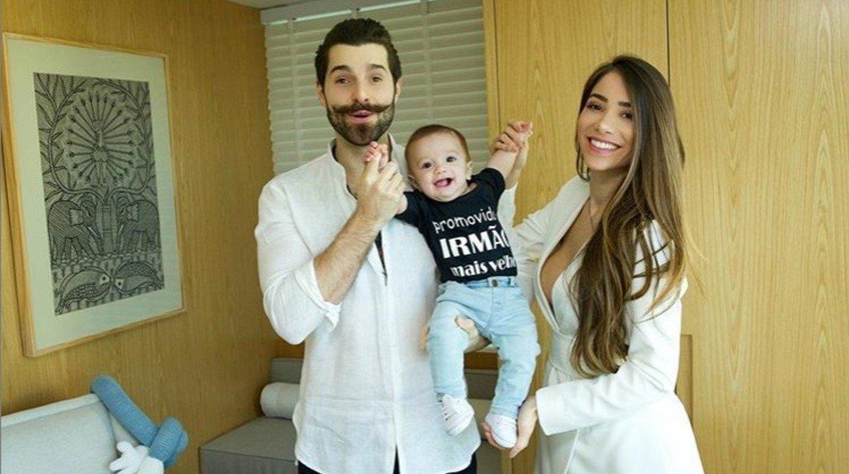 Alok e esposa anunciam nova gravidez 6 meses após filho nascer