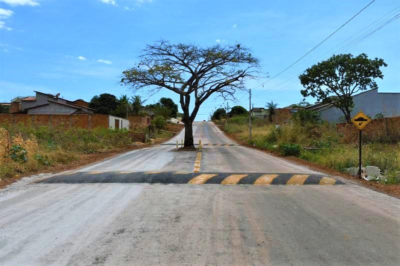 Cajazeira da Avenida Piracicaba é sinalizada pela Prefeitura de Paraíso