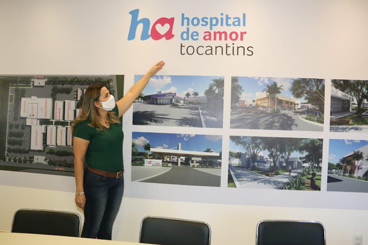 Dulce Miranda visita obras do Hospital de Amor e ressalta emendas de quase R$6 milhões