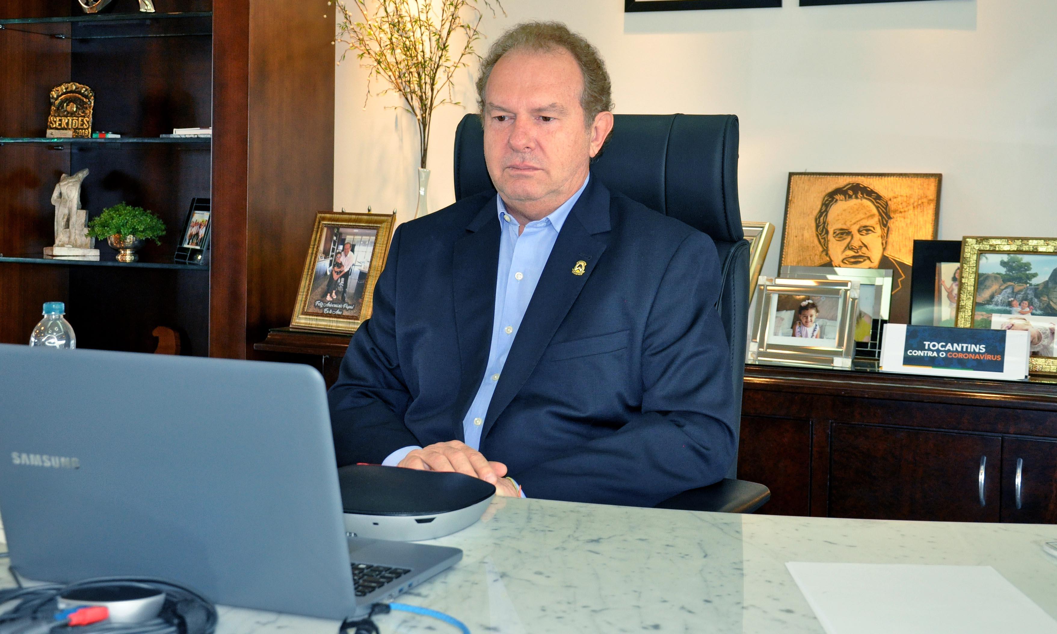 Governador Carlesse discute com demais Poderes e órgãos cumprimento constitucional para nova alíquota da previdência dos servidores