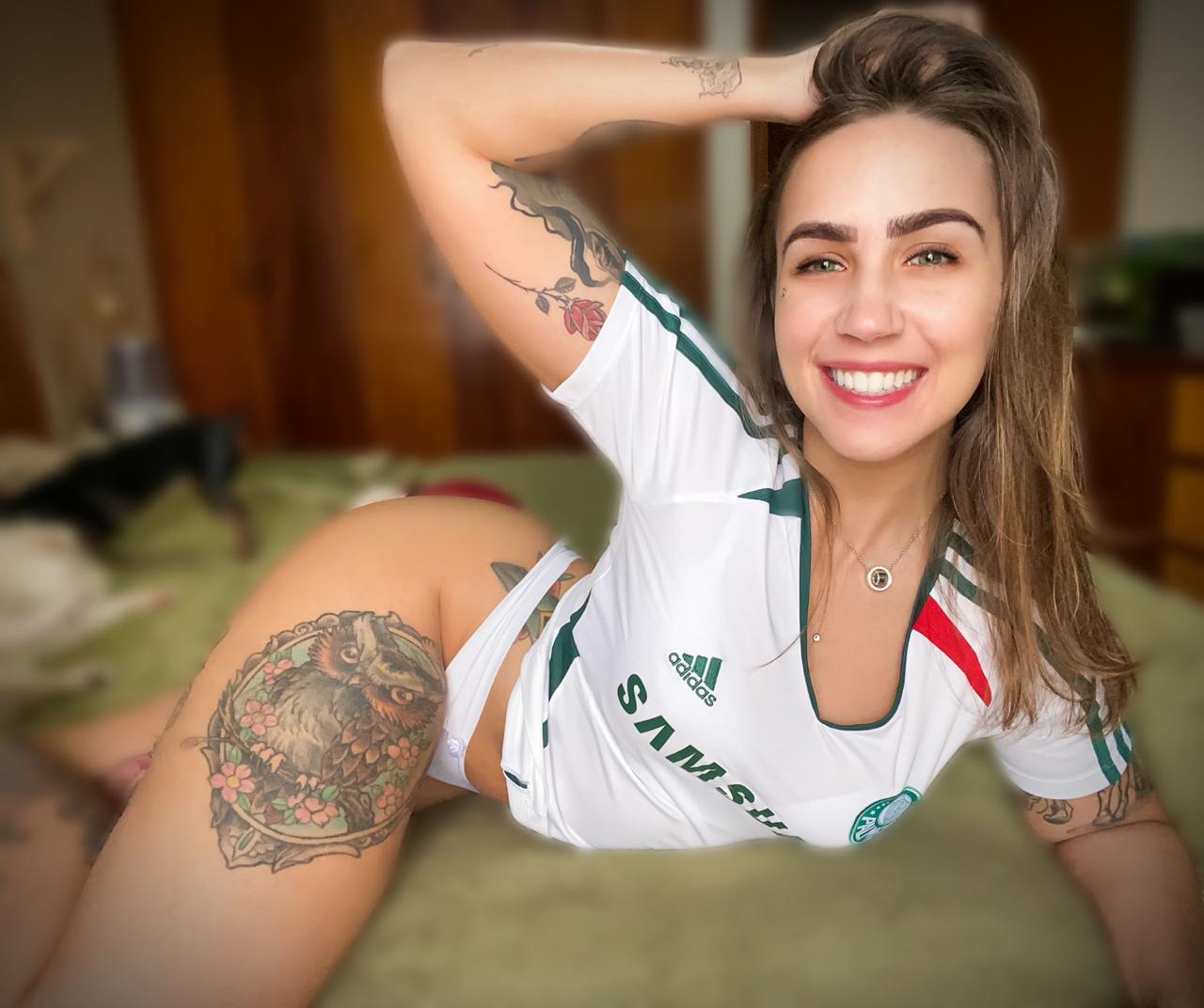 Maia Müller entra com favoritismo em concurso que irá escolher torcedora mais linda do Brasil