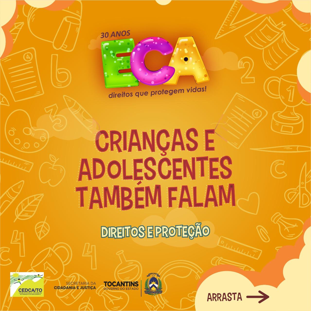 30 anos do Eca: crianças e adolescentes falam sobre seus direitos