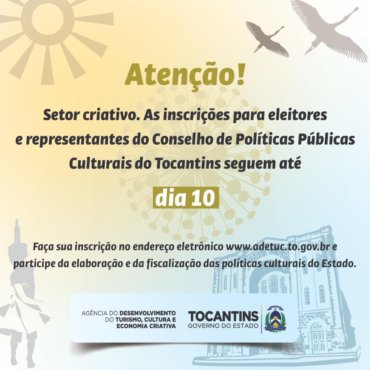 Prazo para cadastro de eleitores e candidatos ao Conselho de Cultura termina na sexta