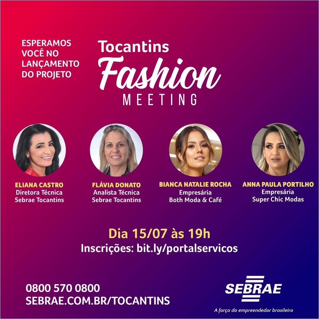 Projeto Tocantins Fashion Meeting será lançado nesta quarta, 15