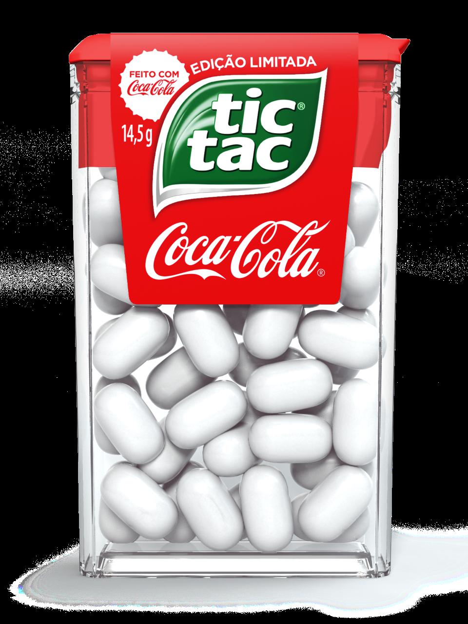 Tic Tac e Coca-Cola, a combinação entre duas marcas icônicas