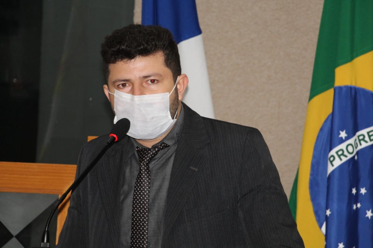 Vereador Ataíde Rodrigues reitera sugestão de convênio com Hospital Modelo de Paraíso entre Prefeitura e Estado para atendimento à Covid-19