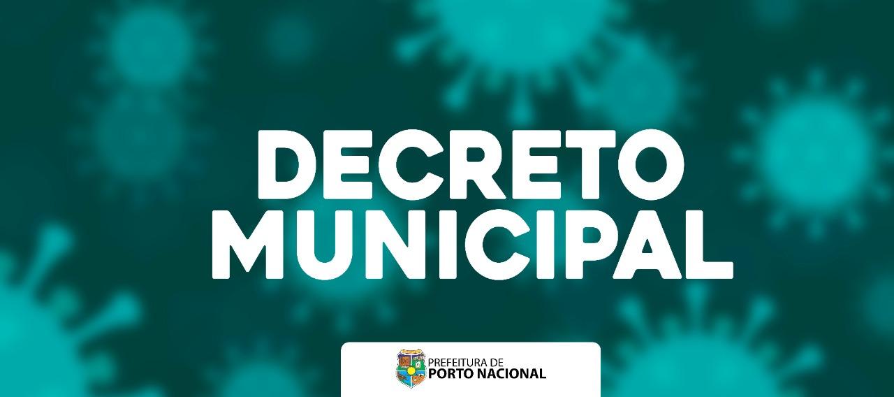 Covid-19: Prefeitura de Porto Nacional publica decreto exigindo o uso de máscara no comércio e locais públicos