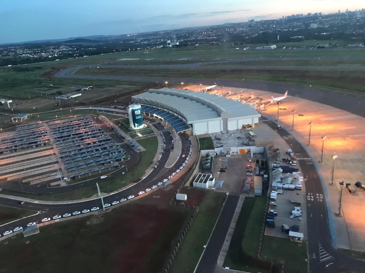 Aeroporto de Goiânia é autorizado receber voos internacionais