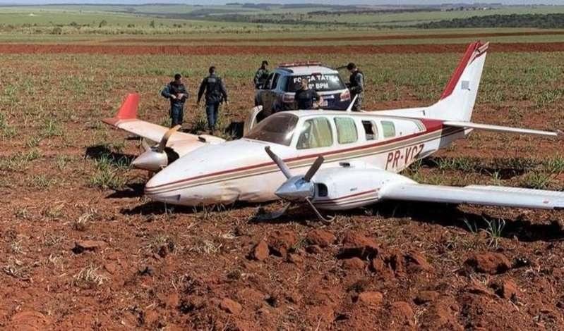 Aviões com 1,1 tonelada de cocaína são interceptados pela FAB no Mato Grosso do Sul