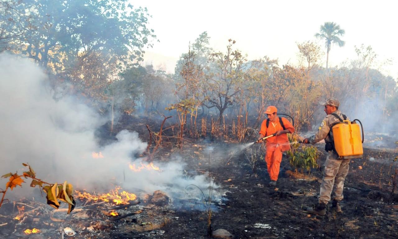 Governador Carlesse solicita ao presidente Bolsonaro auxílio das Forças Armadas para combate de incêndios florestais no TO