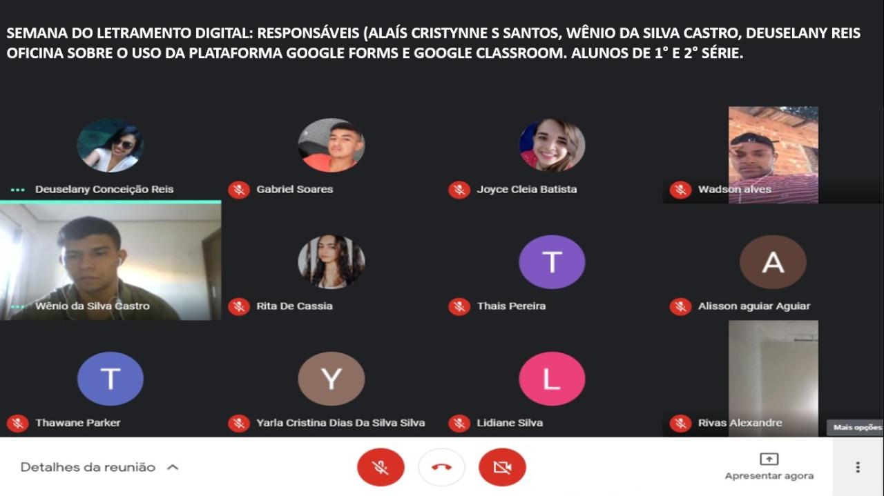 Escola aposta em Semana de Letramento Digital no retorno das aulas não presenciais