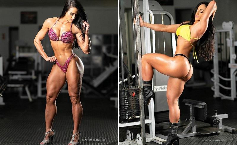 Musa e atleta fitness Gaby Tavares faz sucesso com shape perfeito