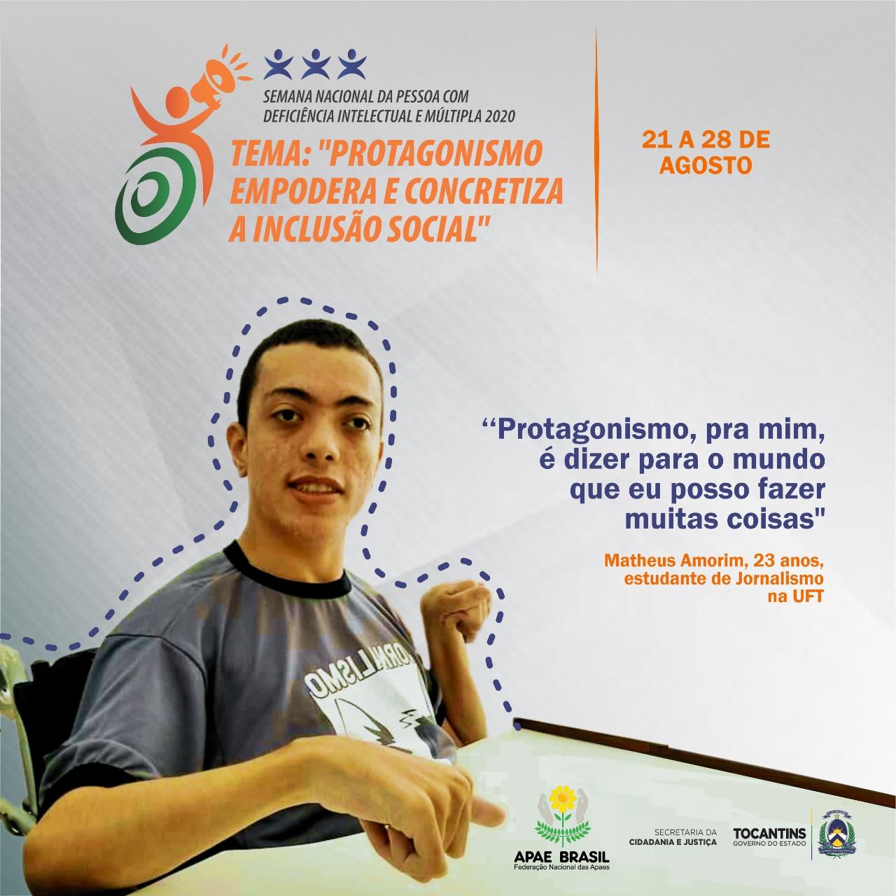 Semana Nacional da pessoa com Deficiência Intelectual e Múltipla debate protagonismo e empoderamento