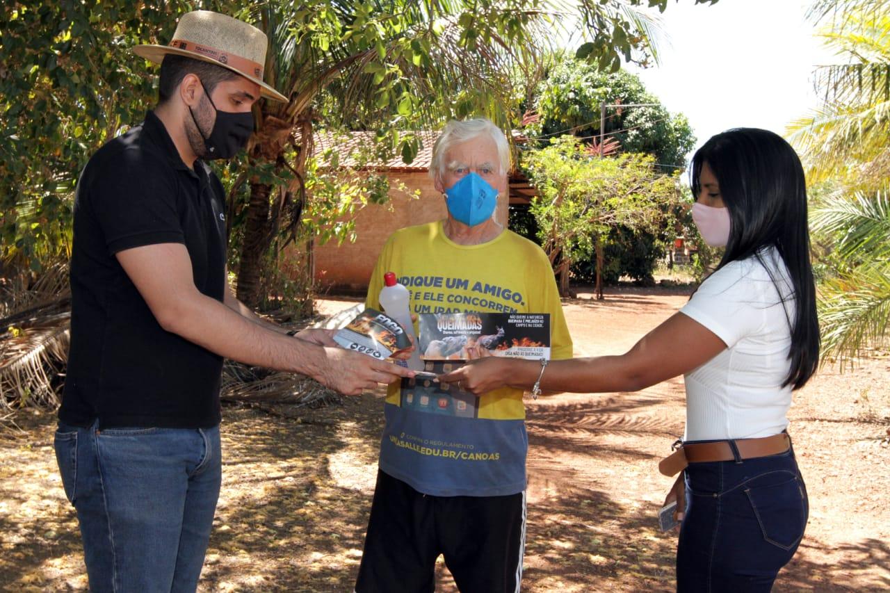 Projeto Foco no Fogo leva informações sobre educação ambiental pelo interior do Estado