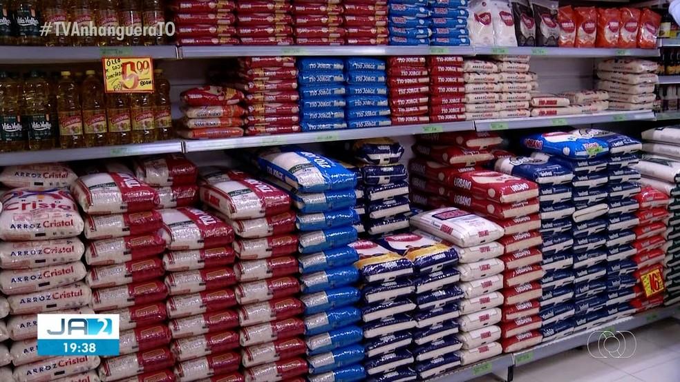 Preço do arroz sobe quase 30% e pesa no bolso do tocantinense