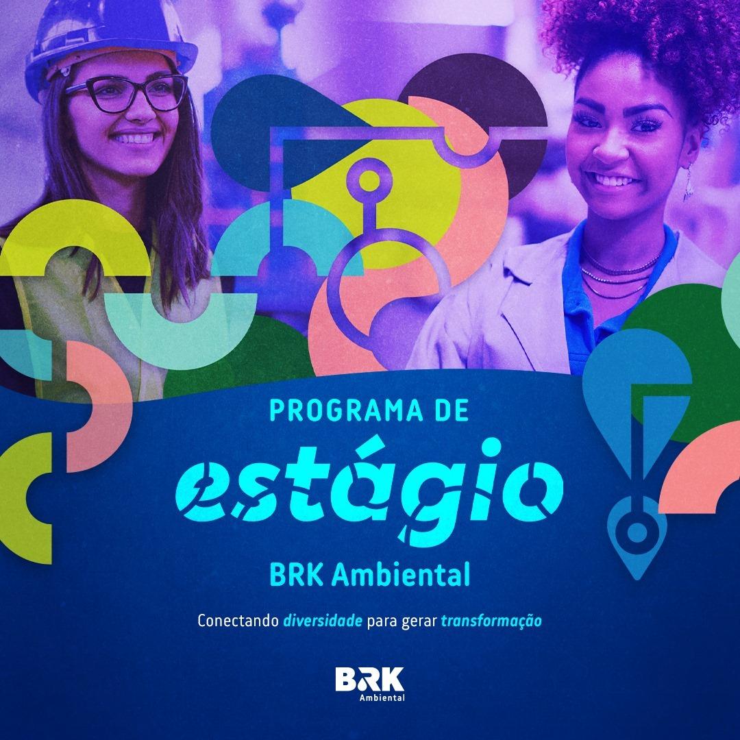 BRK Ambiental abre oportunidade para estágio em Paraíso; Vagas são para engenharias Civil e Ambiental