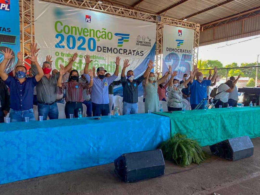 Convenção confirma candidatura de Batatinha à reeleição em Cristalândia