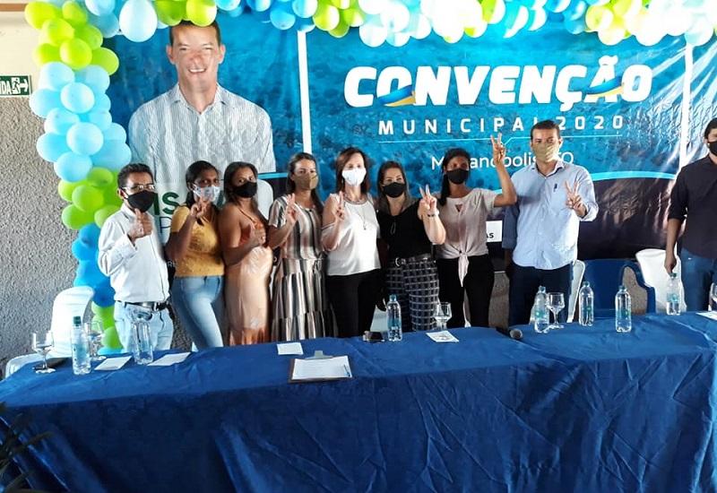 Convenção oficializa candidatura do prefeito Isaías Piagem à reeleição em Marianópolis