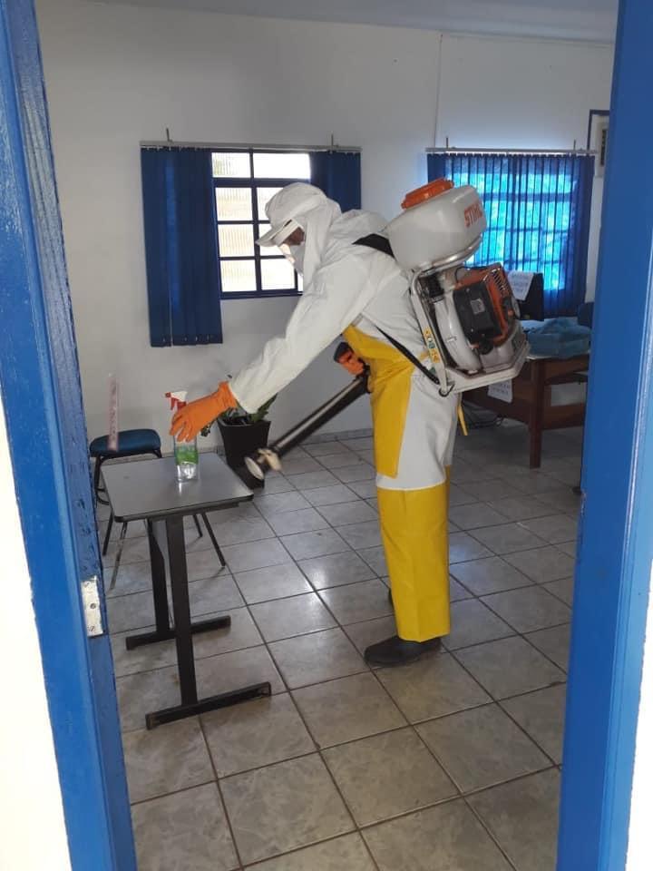 Coronavírus: Lagoa da Confusão segue com calendário de desinfecção