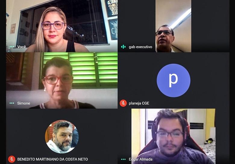 Unicet realiza reunião de planejamento de ações para capacitação dos servidores estaduais
