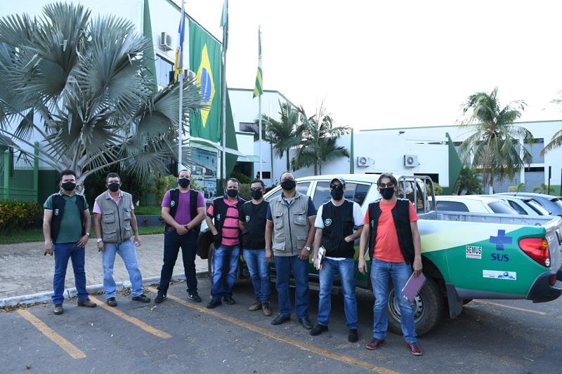 Covid-19: Fiscais da Coletoria e Vigilância Sanitária fiscalizam estabelecimentos comerciais de Paraíso