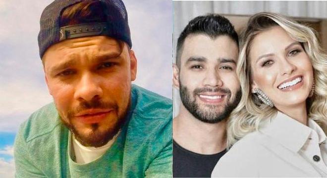 Ex-cunhado ataca Gusttavo Lima após separação: 'Surpresa nenhuma'