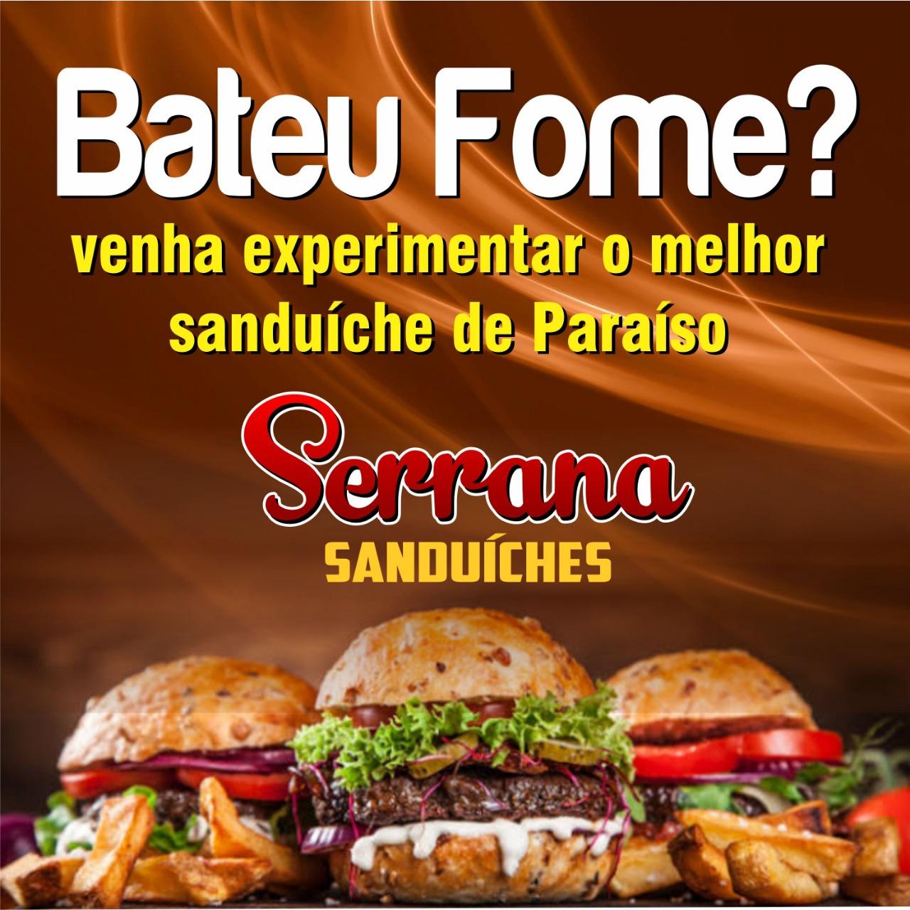 Cardápio da Serrana Sanduíches conquista consumidores de Paraíso do Tocantins