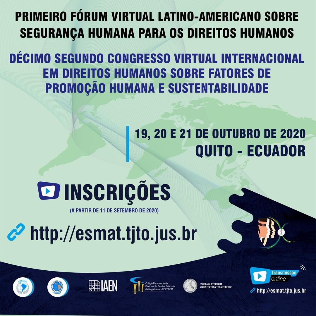 Abertas inscrições para o Primeiro Fórum Latino-Americano sobre Segurança Humana