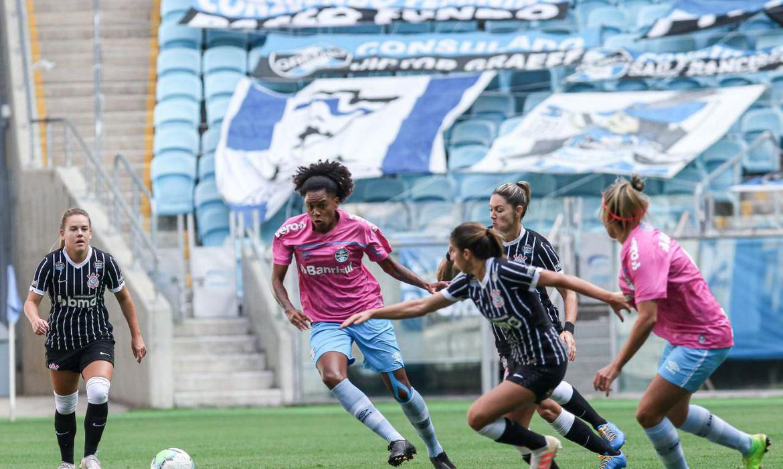 Brasileiro Feminino: Corinthians vence Grêmio em Porto Alegre