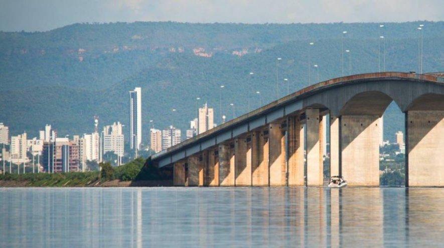 Ageto comunica interdição parcial do tráfego na ponte que liga Palmas a Luzimangues