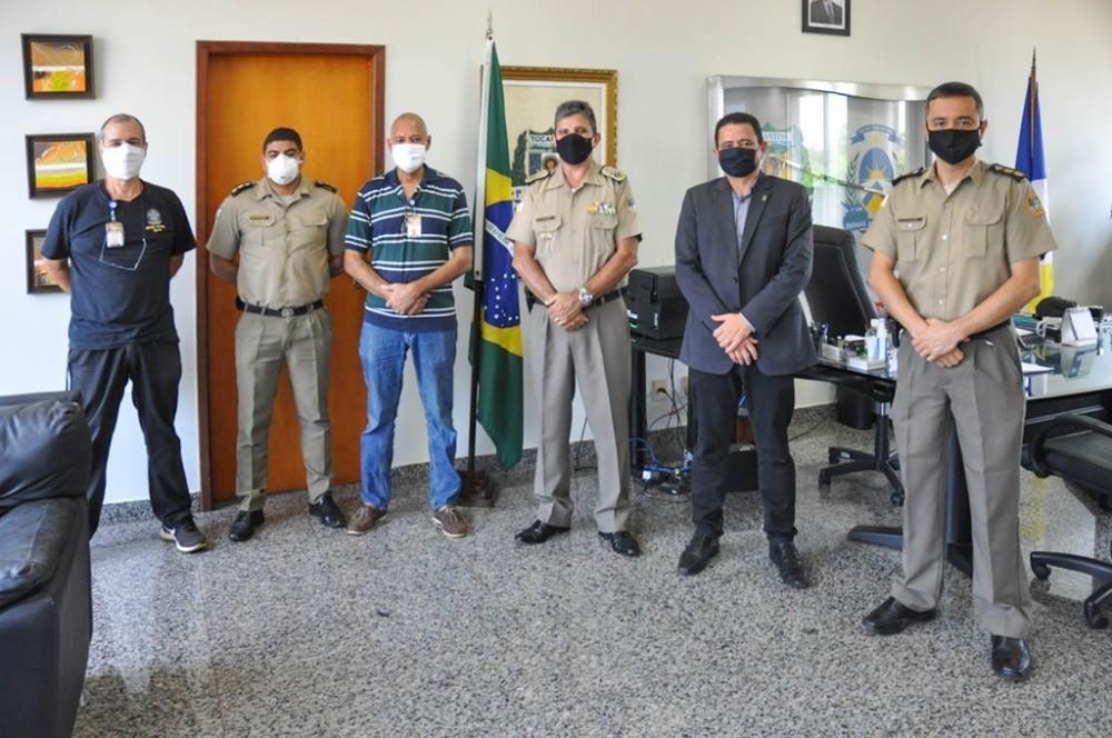Polícia Militar recebe comitiva do TRE para alinhar ações de segurança para eleições municipais