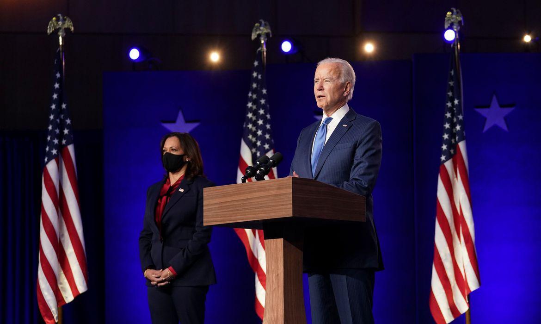 Biden promete crescimento da economia e do emprego