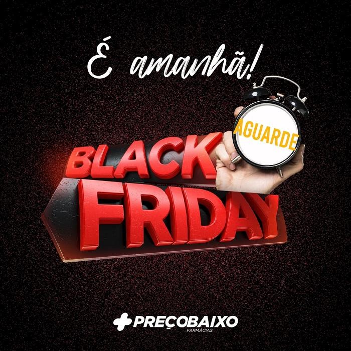 Farmácia Preço Baixo anuncia black friday com preços jamais vistos em Paraíso