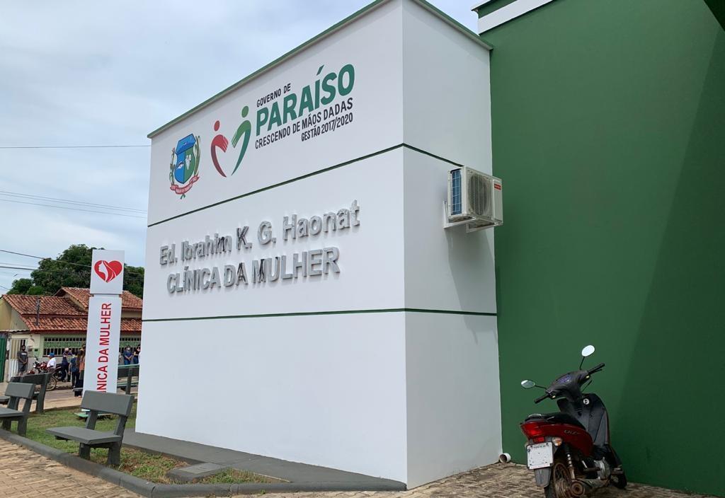 Prefeito Moisés Avelino entrega Clínica da Mulher em Paraíso TO