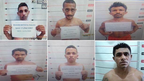Pelo menos sete presos fogem da CPP de Palmas