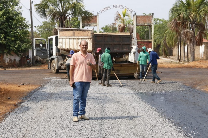 Prefeito de Miracema viabiliza mais de 40 mil metros quadrados de pavimentação e recapeamento asfáltico