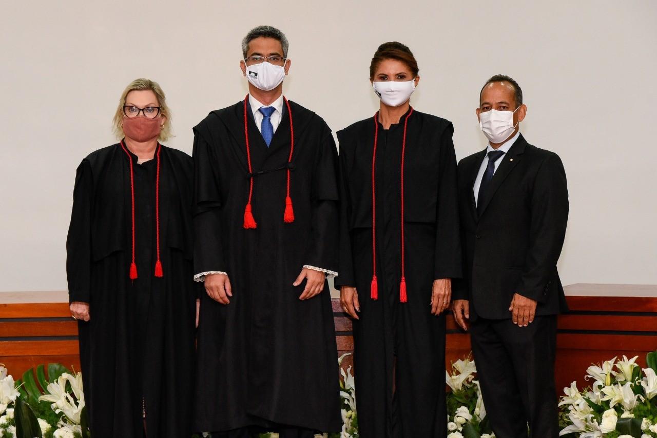 Em sessão virtual, Luciano Casaroti toma posse como Procurador-Geral de Justiça do Ministério Público do Tocantins