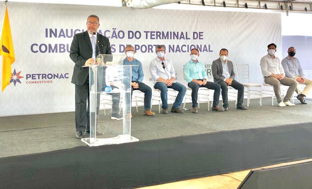 Governo do Tocantins participa de inauguração do terminal ferroviário de cargas, no pátio da Ferrovia Norte-Sul em Porto Nacional