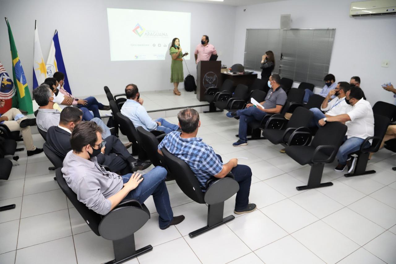 Secretaria da Fazenda apresenta plataforma de mapeamento à Aciara