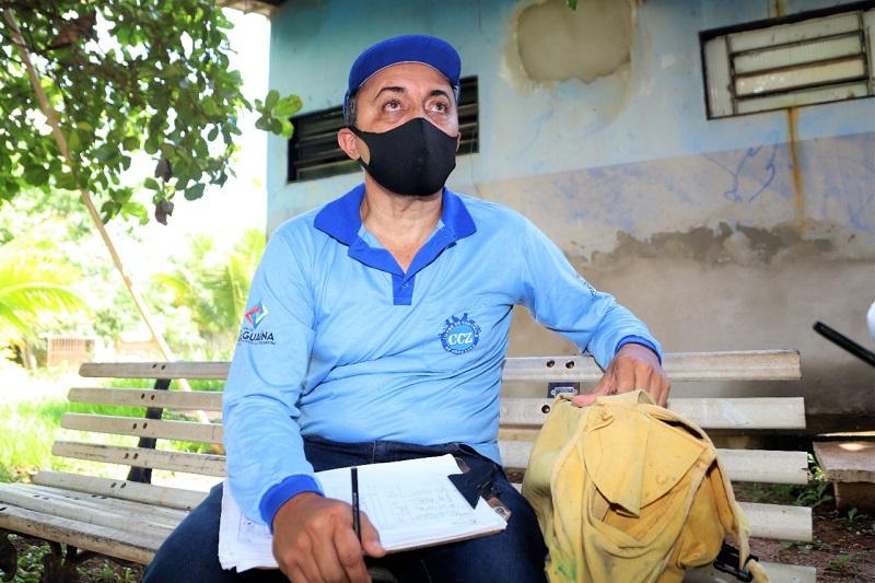 Agente de endemias fala sobre desafios da profissão em meio ao coronavírus, em Araguaína